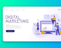 UI Design for a Digital Marketing Company