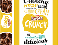 JACK N' JILL Knots Crunch Packaging Design Studies