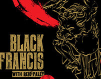 Black Francis Gig Poster