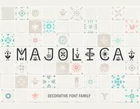 Majolica - Decorative Font Family