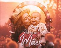 Flyer em homenagem ao dia das mães JR Digital