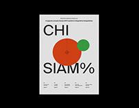 Chi Siam% - Infographic report