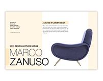 Design Lecture Posters: Marco Zanuso