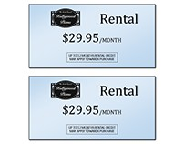 Rental Tags - Hollywood Piano...