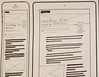 Responsive web design thumbnails