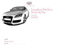 Audi (CUSTOM WORDPRESS THEME)
