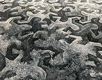 Escher's Lizards