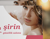 Brochures for Beauty Salon