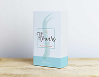 Flowers Tea identity design