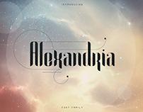 ALEXANDRIA - FREE FONT
