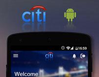 Citibank India Redesigned