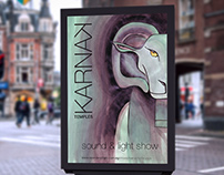 The Karnak Sound and Light Show Poster