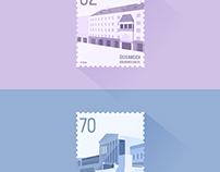 Stamps – Austrian Landmarks