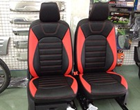 Bọc ghế da xe Ford Eco Sport