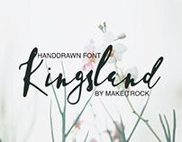 KINGSLAND - FREE HANDWRITTEN SCRIPT
