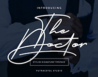 Free The Doctor Signature Font
