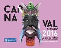 CARNAVAL 2016, Ayuntamiento de Madrid / Diseño e imagen