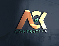 ACK Contracting Logo