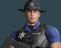Twitch's Sheriff Eli - 3D Model
