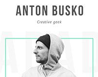 My personal portfolio website