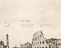 Antico Cafe - Website