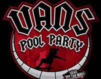 VANS POOL PARTY LIVE GRAPHICS
