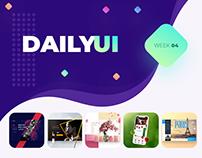 Daily UI: 16 - 20