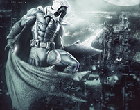Fictional Moon Knight TV Show Poster