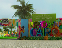 Up Town Cairo Spring Event Branding