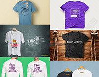 16 Free T-shirt Mock-up Templates