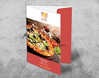Pizza Place Presentation Folder