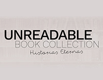 UNREADABLE BOOK COLLECTION