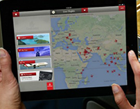 Emirates Airlines iPad & iPhone apps