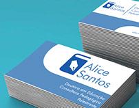 Branding Alice Santos