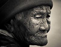 Elderly Tibetans of Kathmandu, Nepal