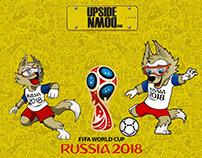 World Cup Russia 2018 campaign Ro.1