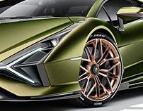 Lamborghini Sián Studio Shots