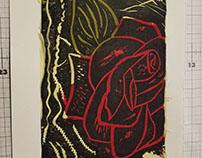 Rose Print Color