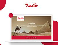 Web Design UI/UX | Travilio
