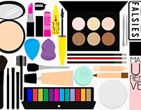 Vector Makeup Scene Kit
