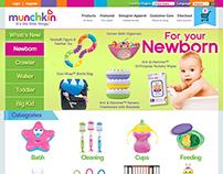 Munchkin Website Redesign Concept
