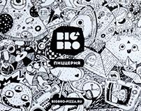 Big Bro Pizza Doodle