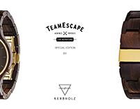 Co-Branding Kerbholz // TeamEscape