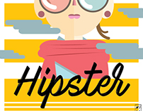 Hipster - Vector Illustration