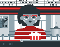 Youtube Ad Page Illustrations