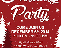 Corporate Holiday Party Invitation 2014