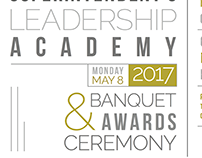 Invitation for award banquet