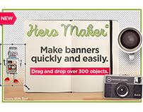 Hero Maker banner creator