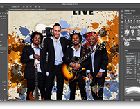 Raoky Live - Poster Design