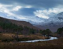 Scottish Landscape & Wildlife in Winter